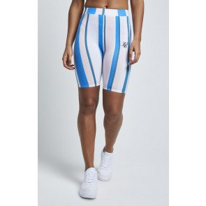 SIKSILK 90'S STRIPE CYCLE SHORTS