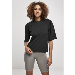 URBAN CLASSICS LADIES ORGANIC OVERSIZED TEE BLACK