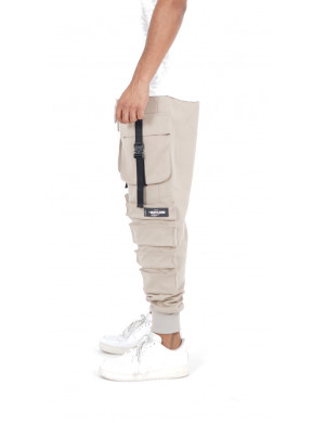 SIXTH JUNE POCKET PANTS Beige