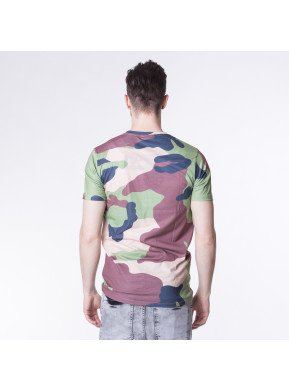 Tricou Hype Rainforest Camo