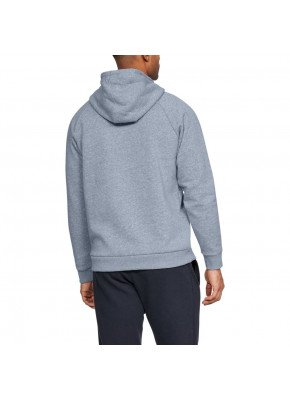 Under Armour Rival Fleece Logo Hoodie Grey